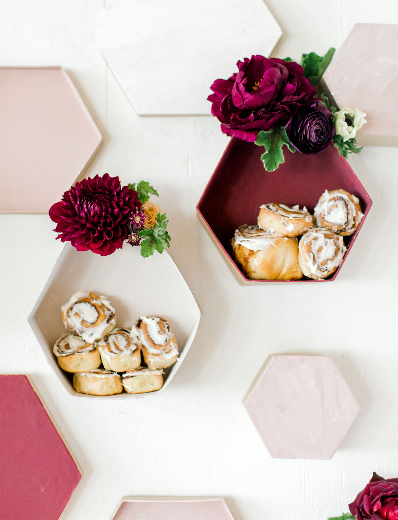 honeycomb dessert backdrop
