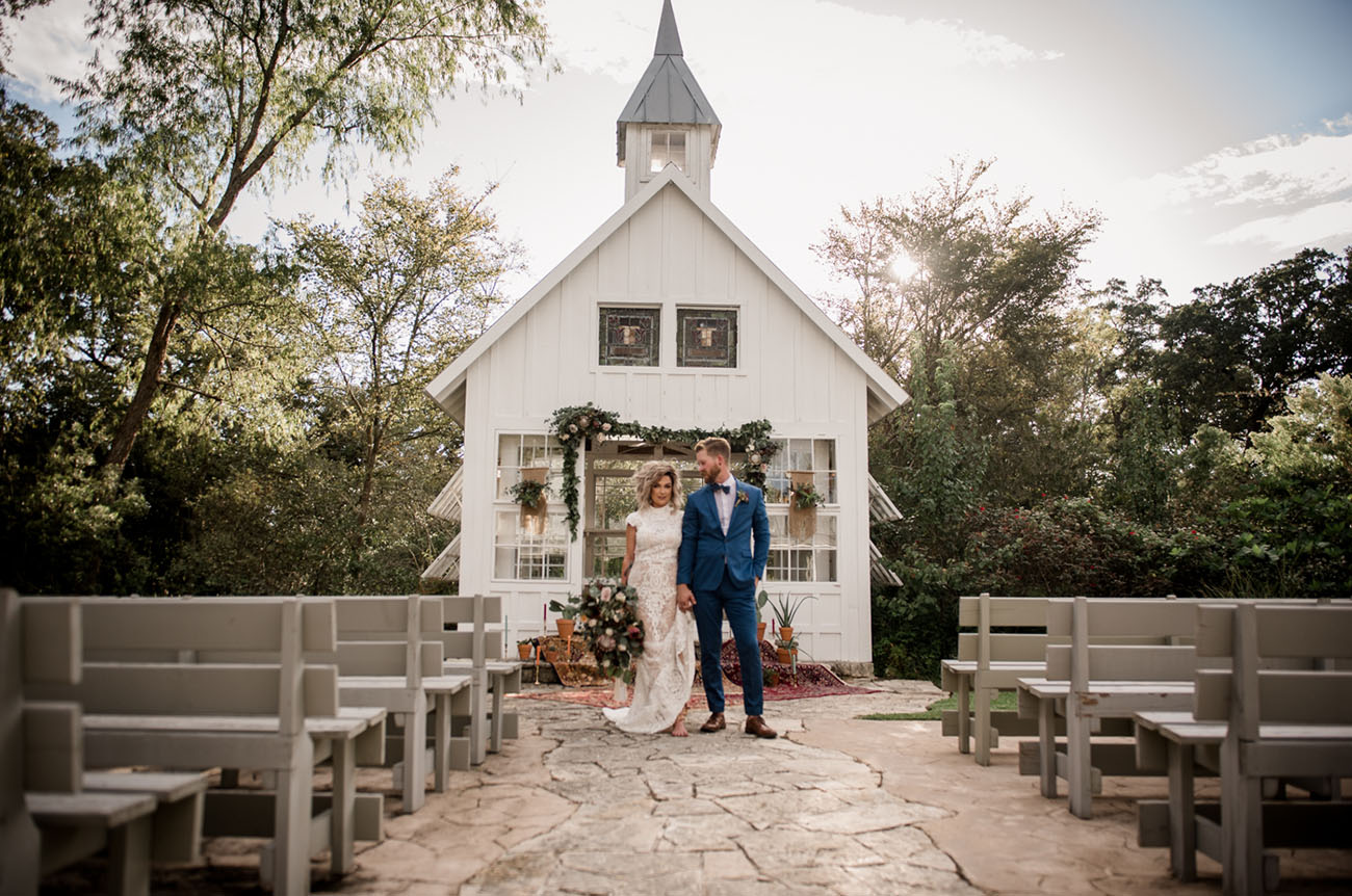 Little White Chapel Wedding Inspiration