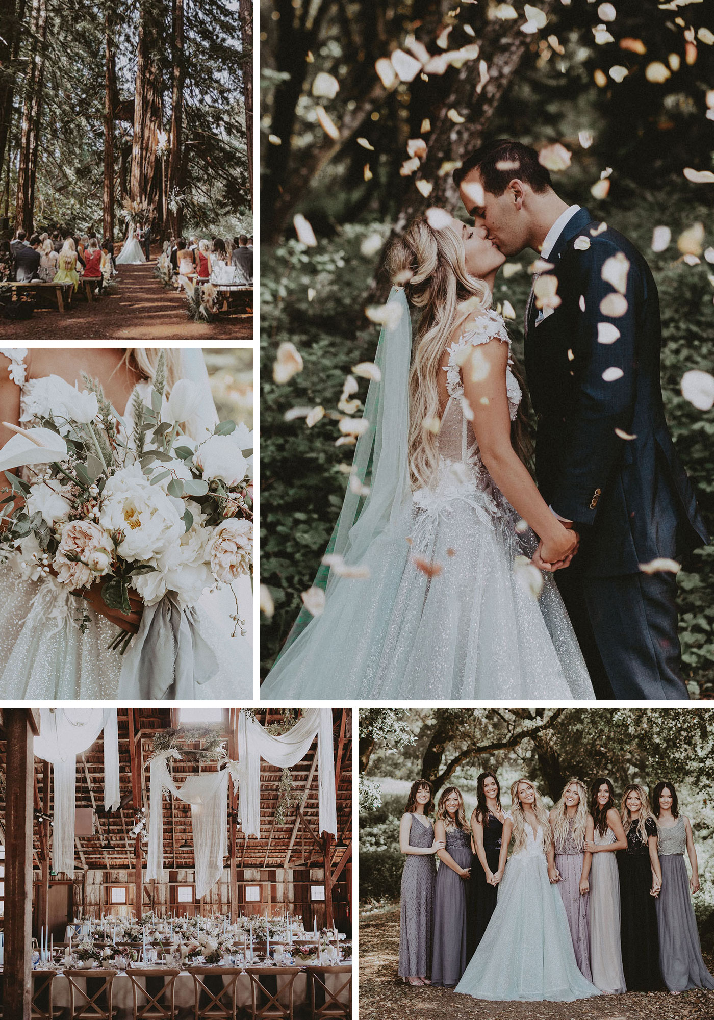 Chantelle Paige's Magical Fairy Tale Wedding in the Woods