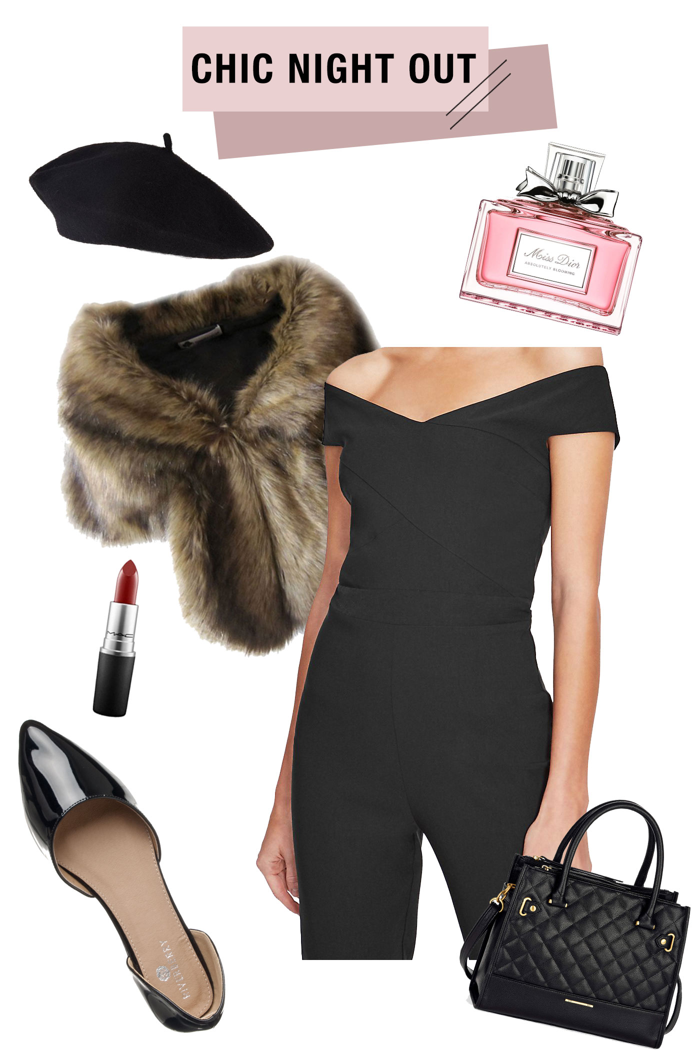 Chic Holiday Party Look