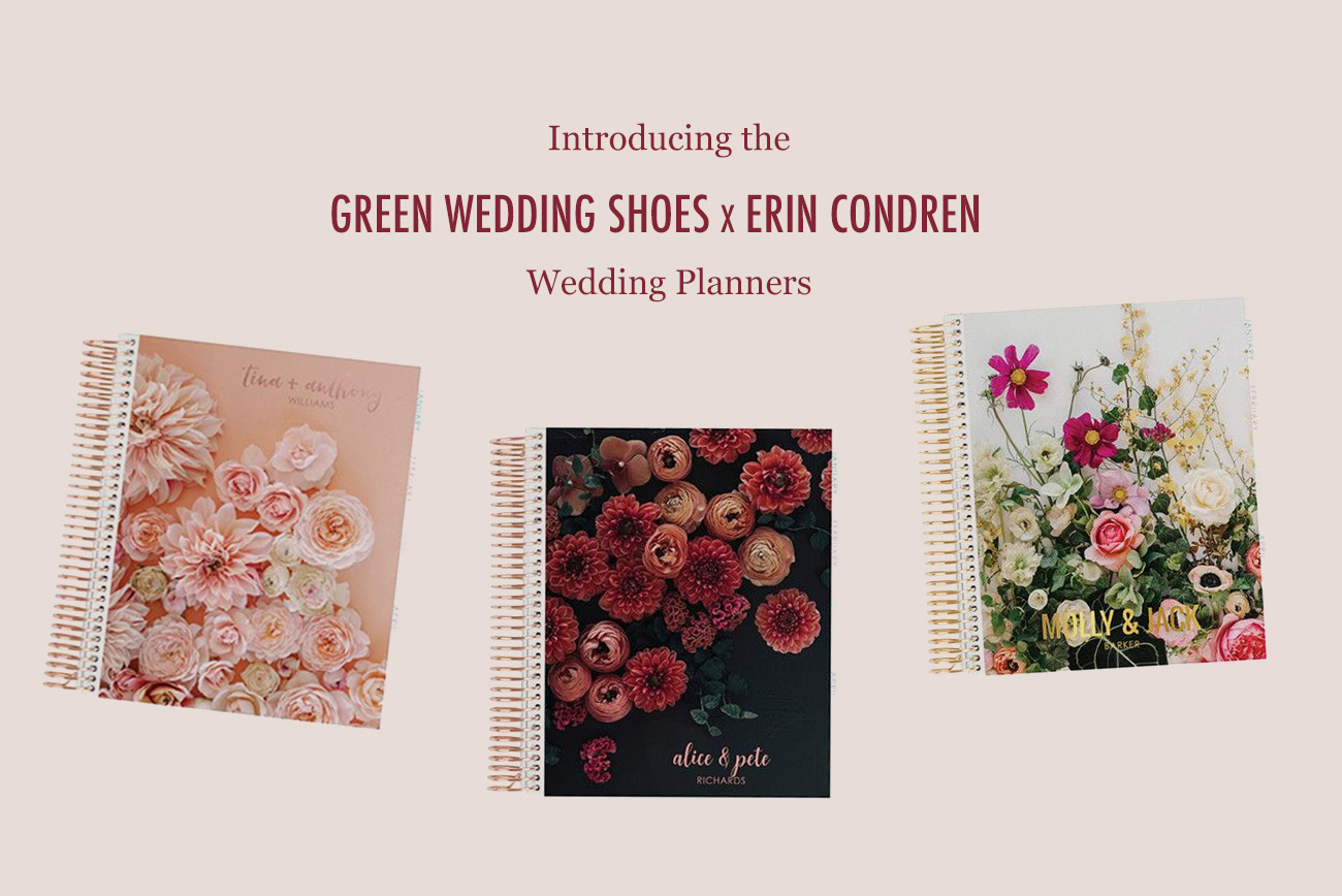 Introducing the Green Wedding Shoes x Erin Condren Wedding Planners!! - Green Wedding Shoes