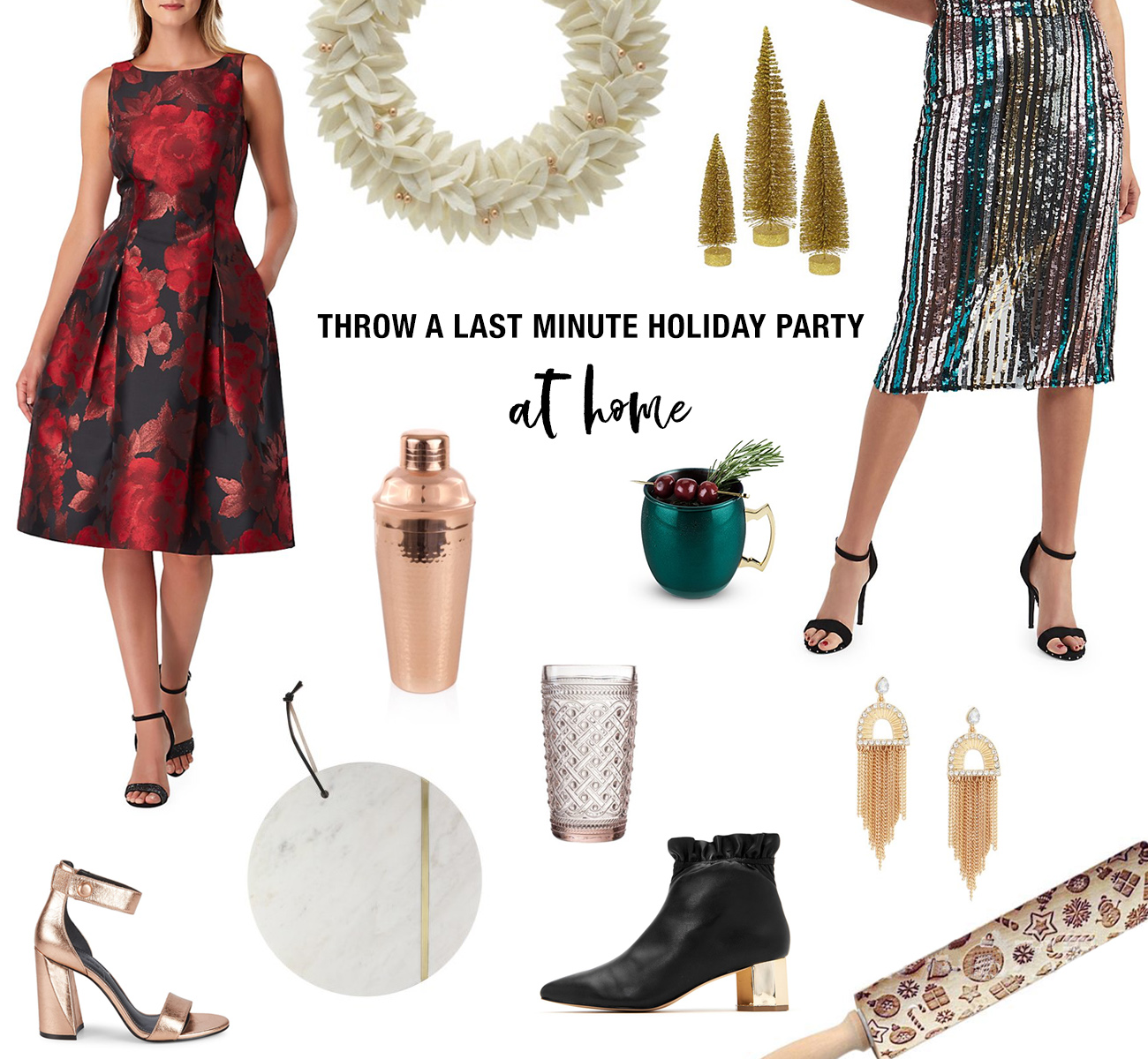 Throw a Holiday Party at Home