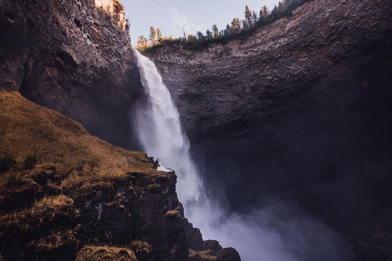 Helmcken Falls Waterfall Elopement