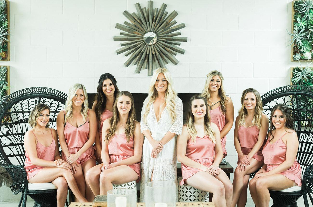 bridesmaids rompers