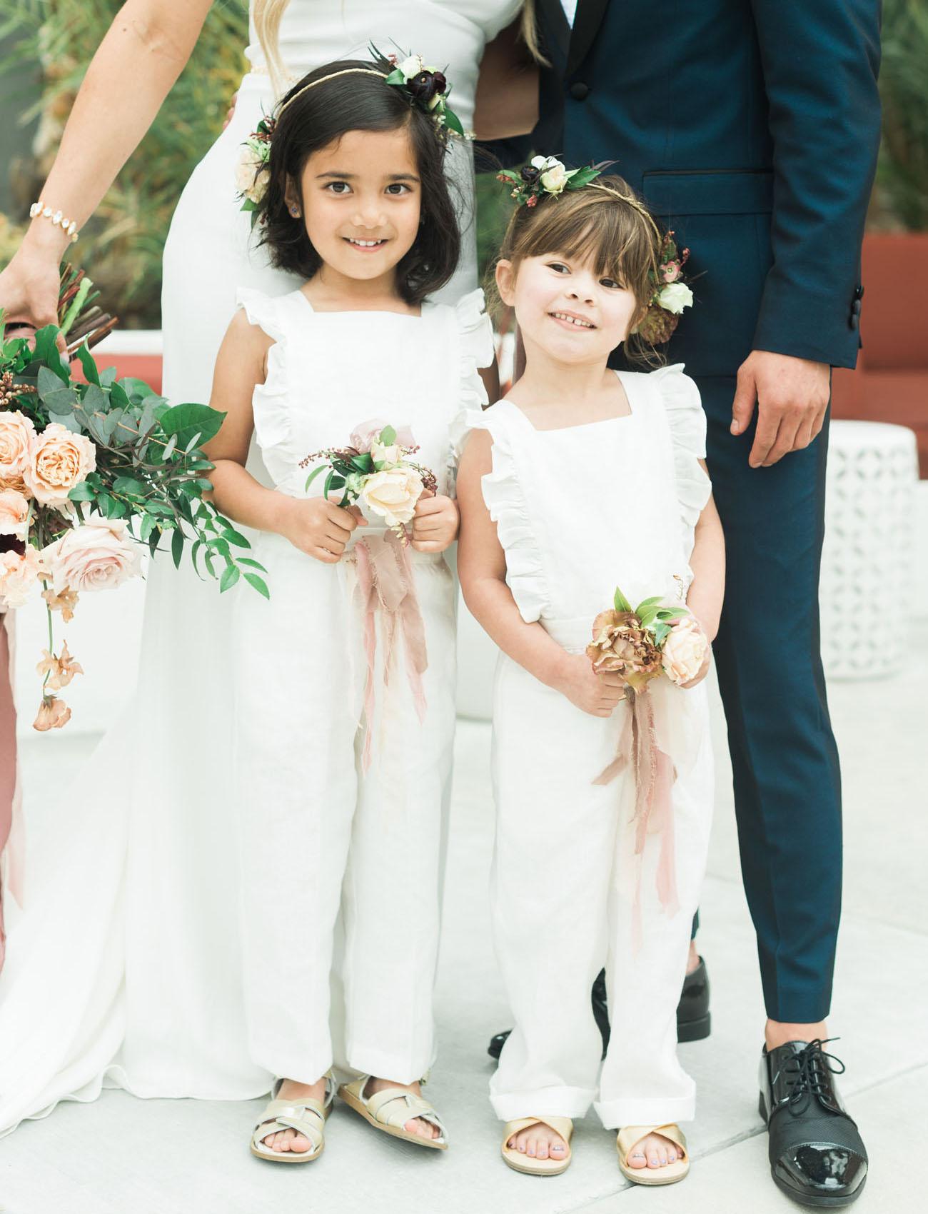 romper flower girl dresses