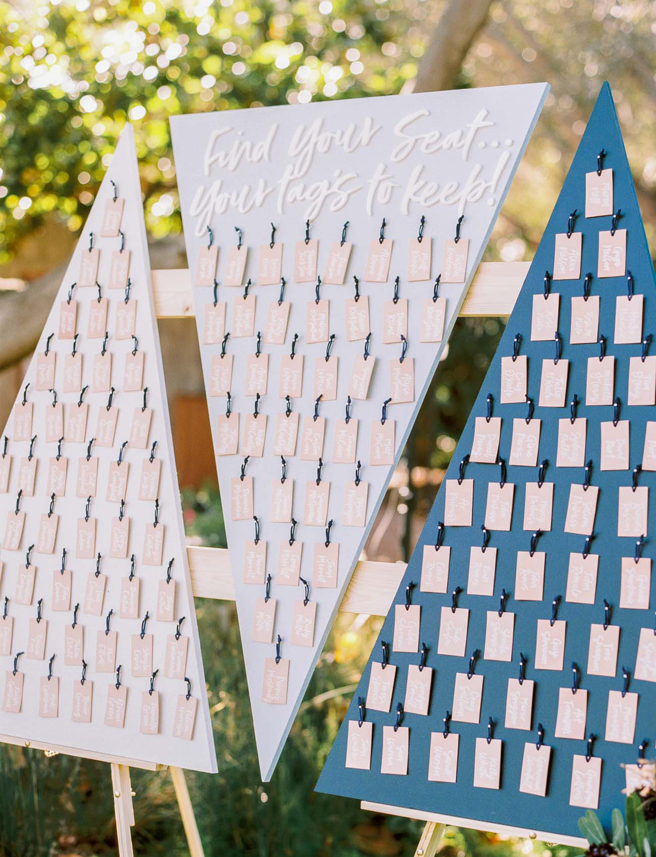 seating chart favors
