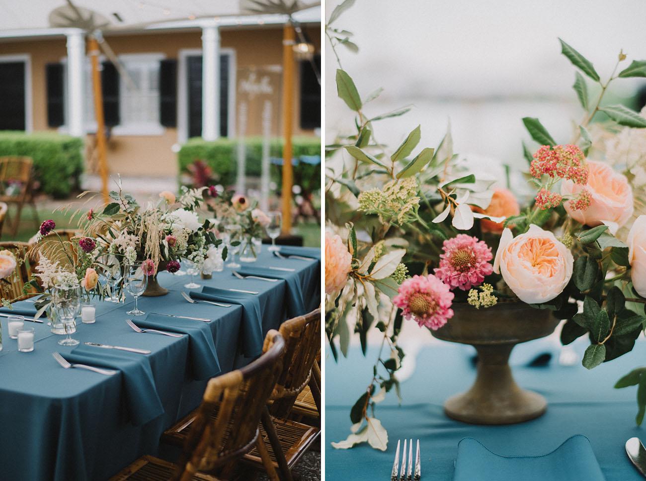 Coastal Garden Party Wedding