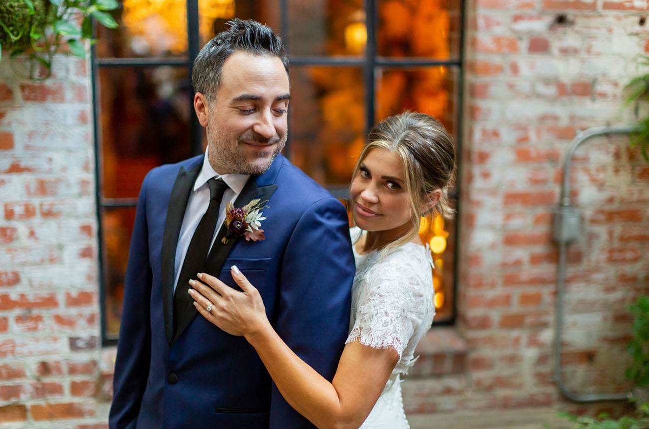 Danielle Fishel and Jensen Karp Wedding