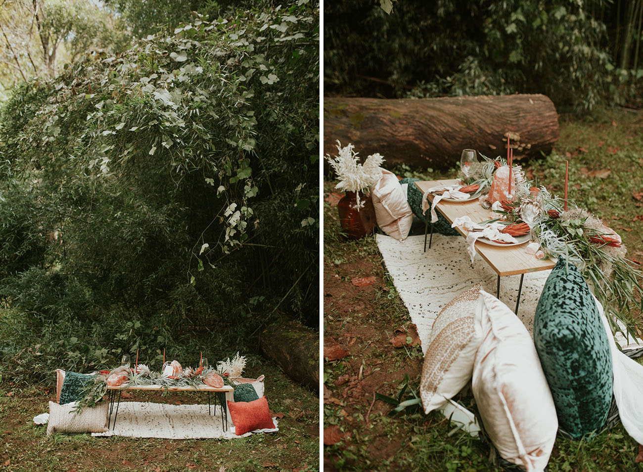 Eclectic Earth Elements Elopement Inspiration