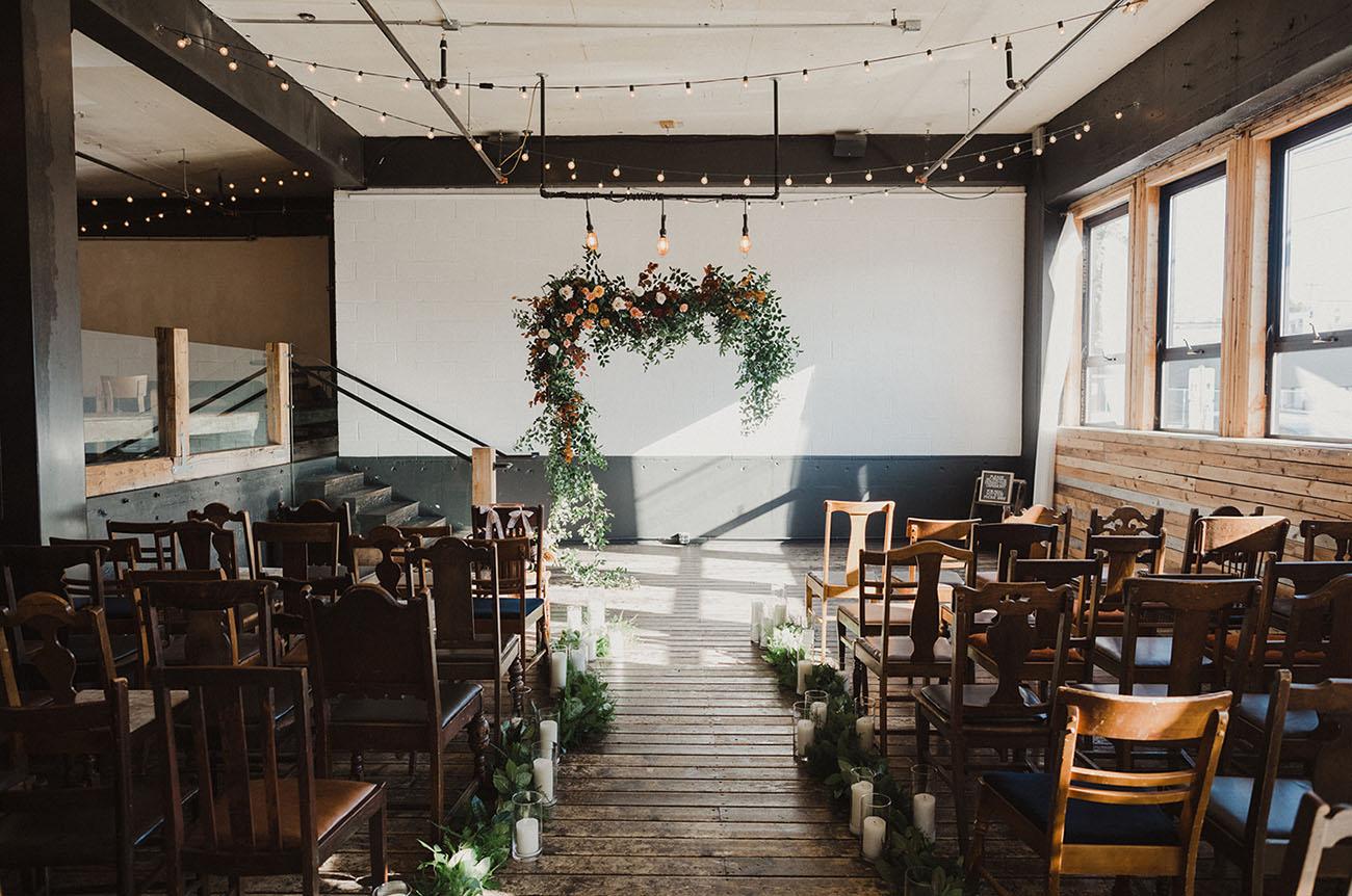 Downtown Portland Winter Wedding