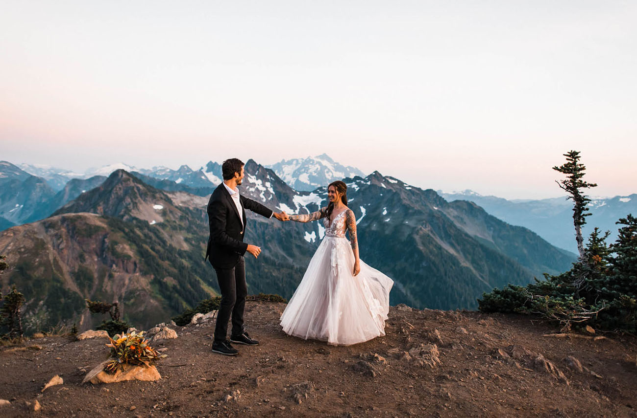 Fairytale Mountain Elopement