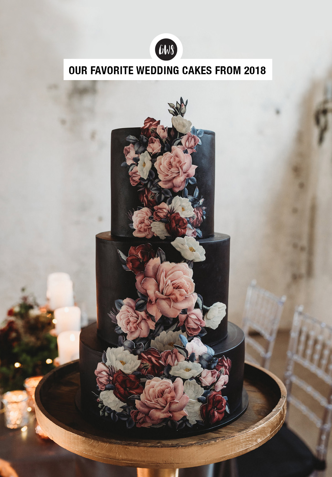 Favorite Wedding Cakes from Green Wedding Shoes of 2018