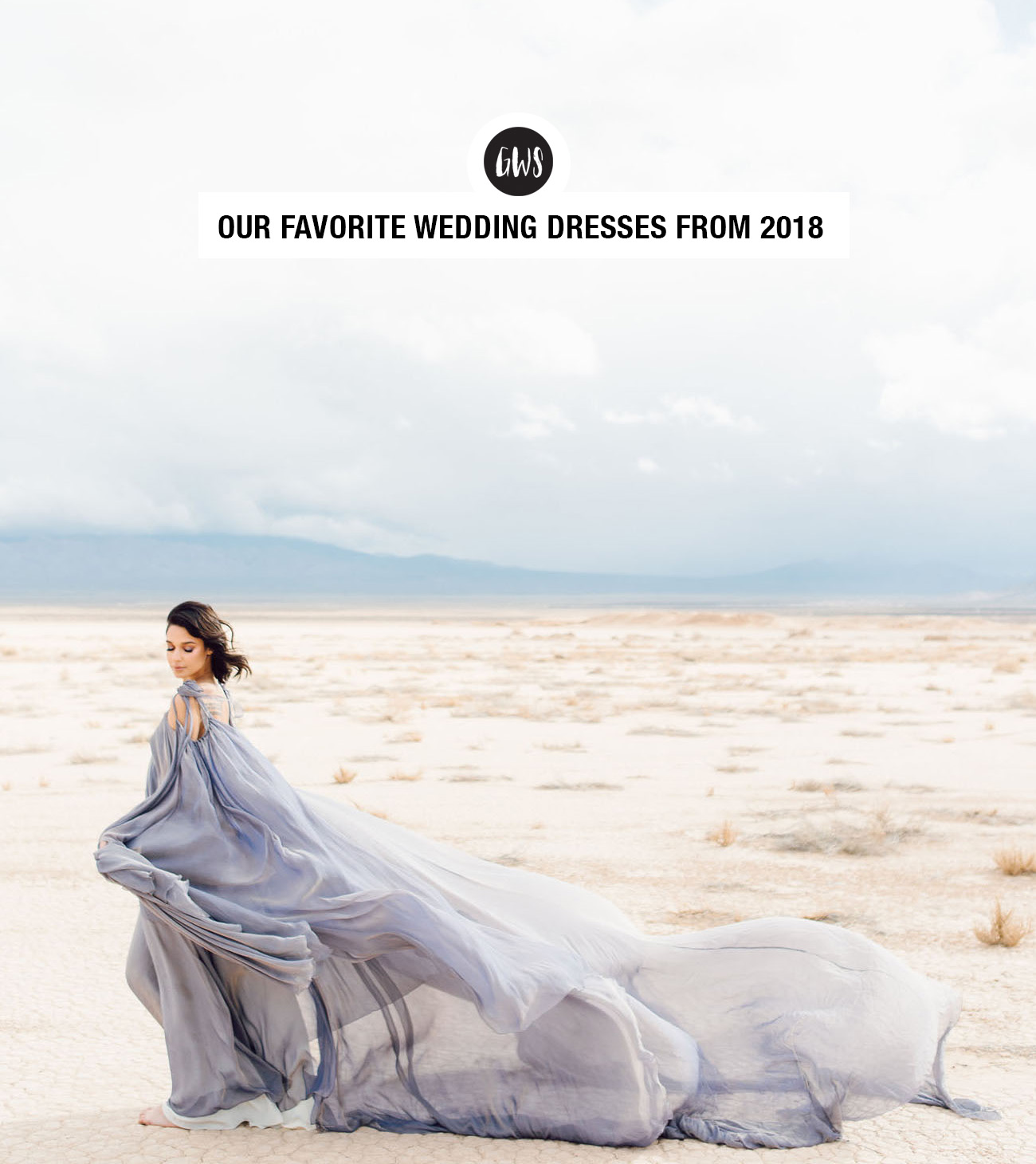 favorite wedding dresses from Green Wedding Shoes of 2018