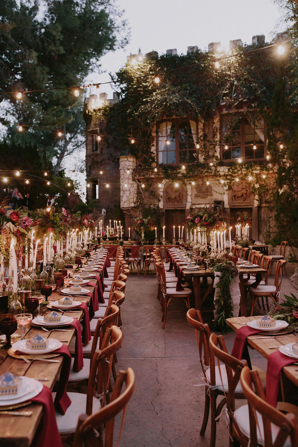 Harry Potter wedding reception