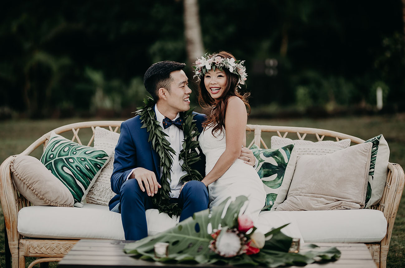 Loulu Palm Farm Estate Hawaii Wedding