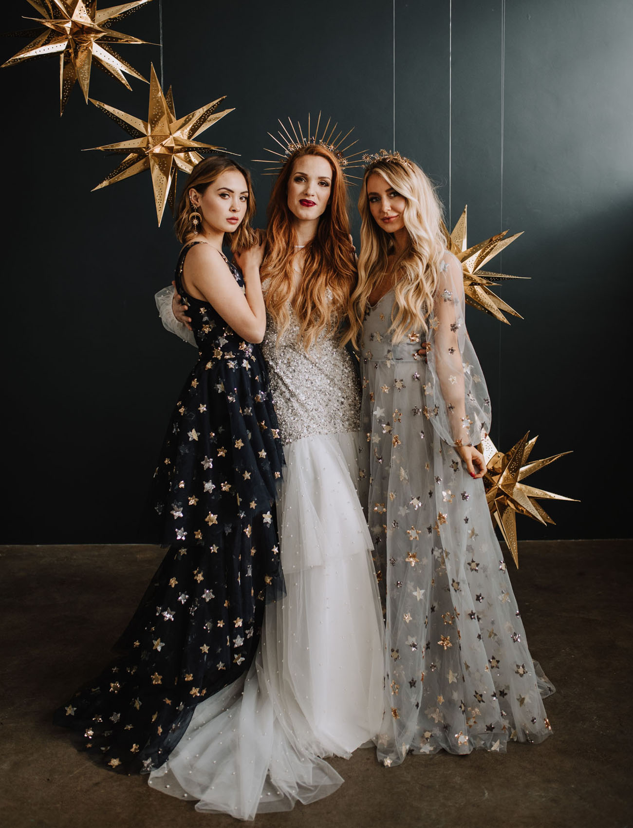 New Years Celestial Wedding Inspiration