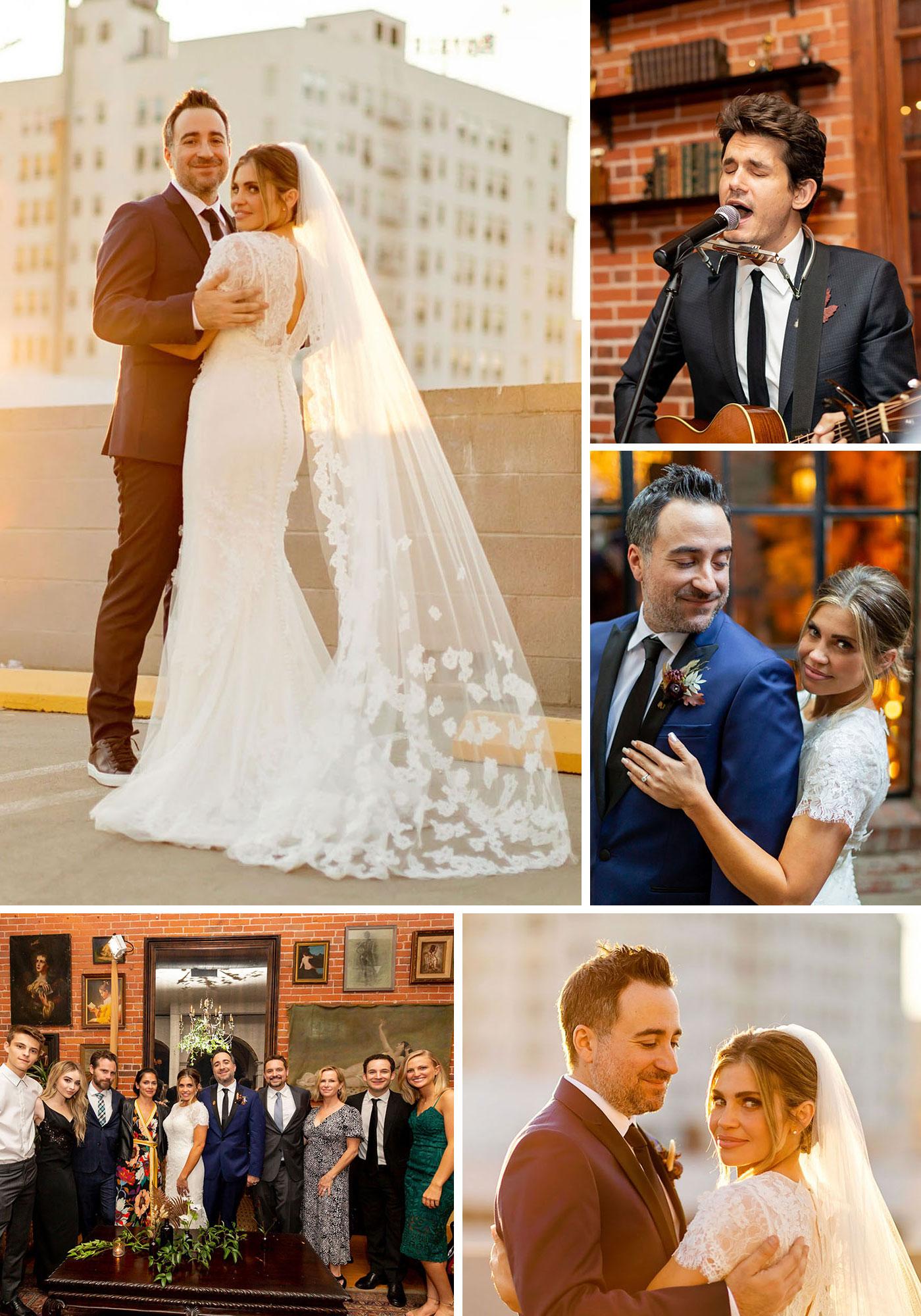 Danielle Fishel's wedding on Green Wedding Shoes