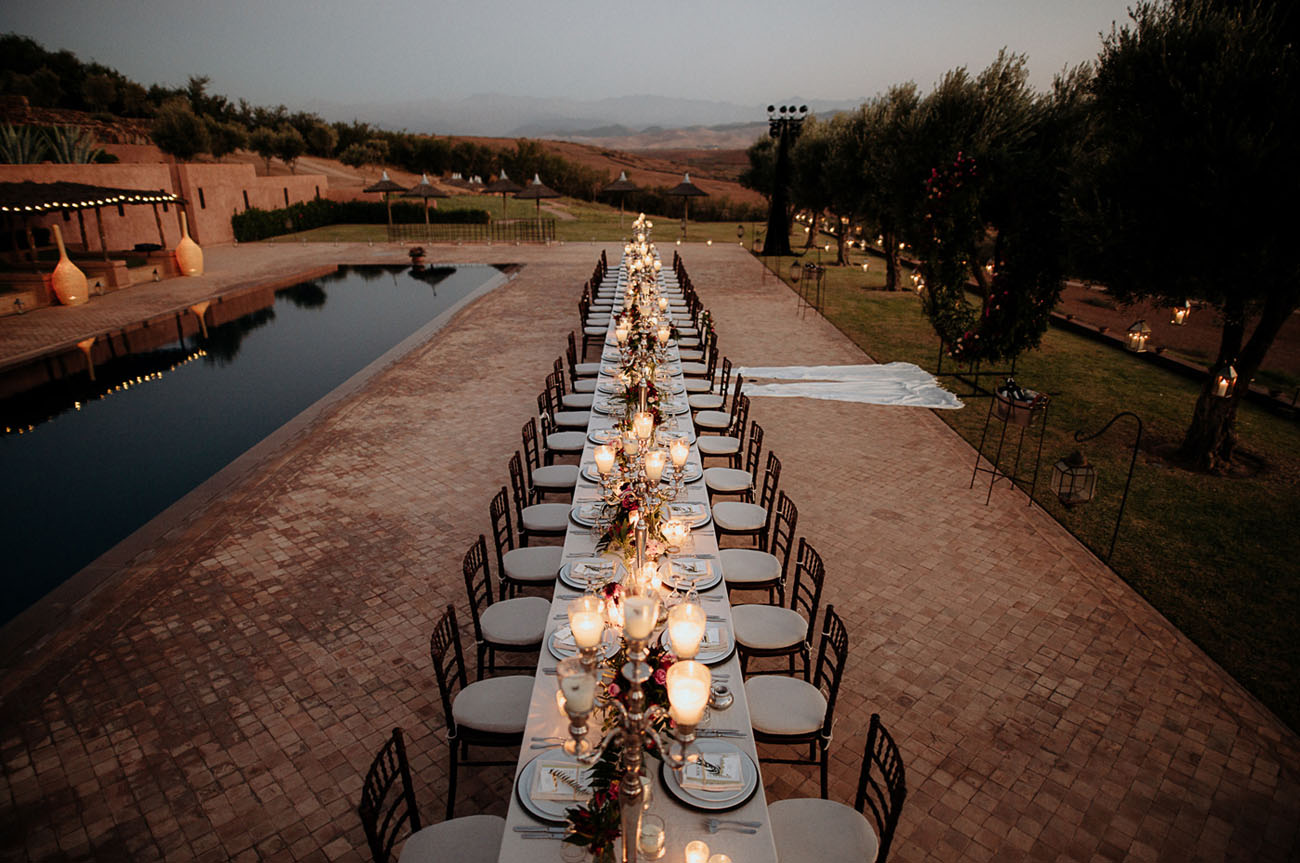 magical Marrakech reception
