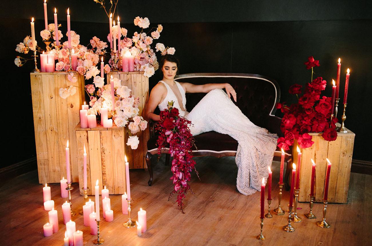Holiday Red Wedding Inspiraiton