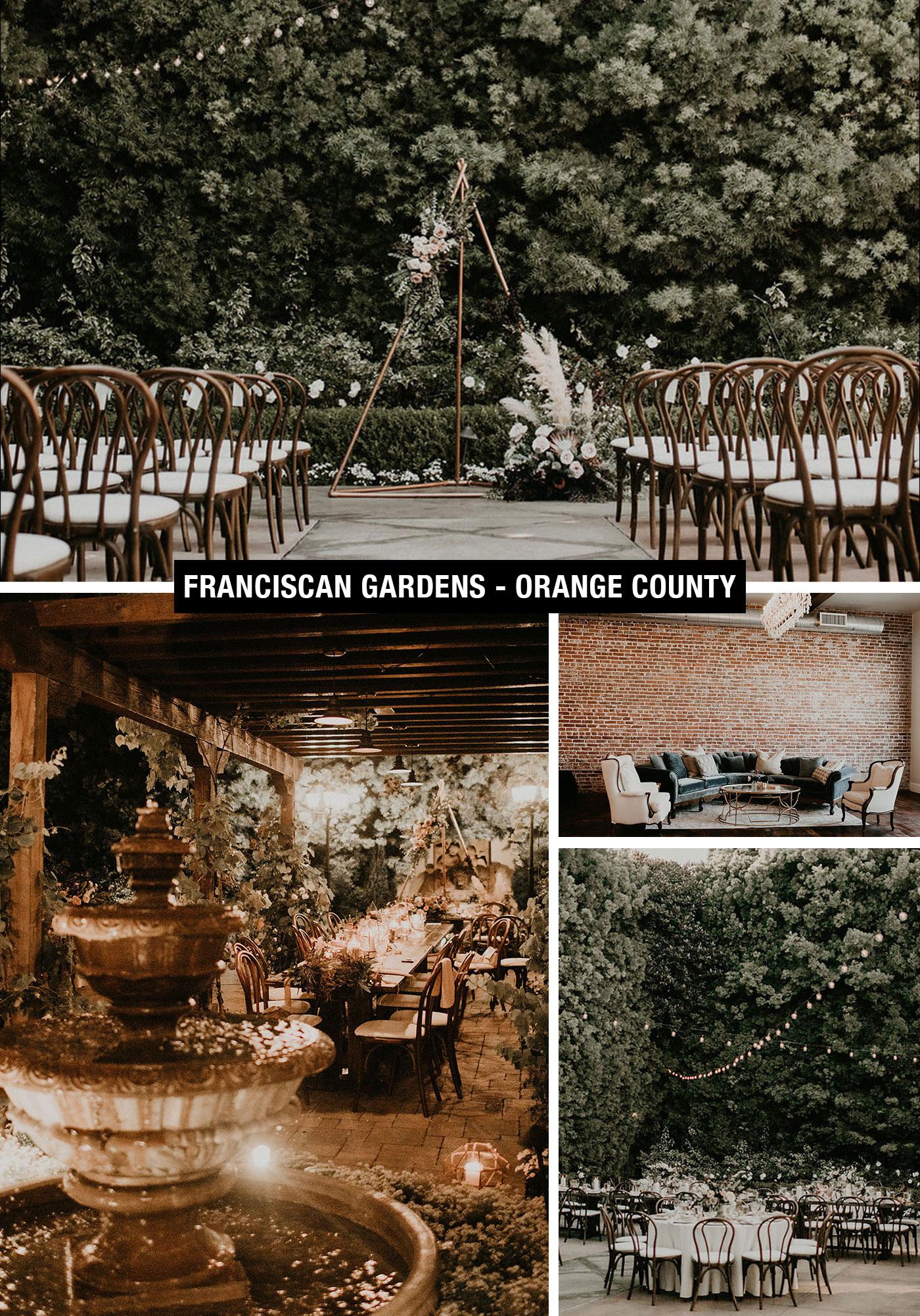 Franciscan Gardens Orange County