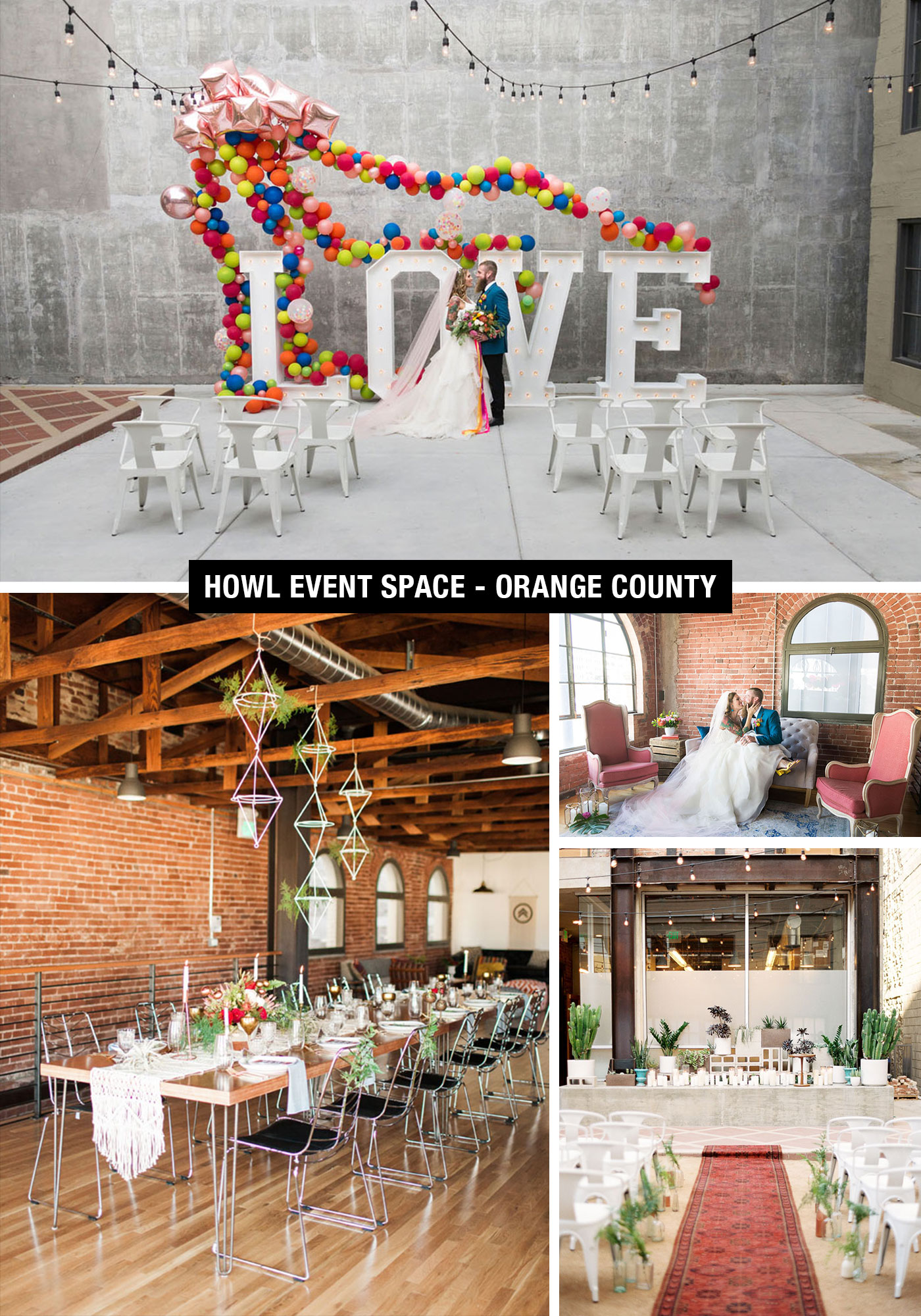 Howl Event Space Weddings