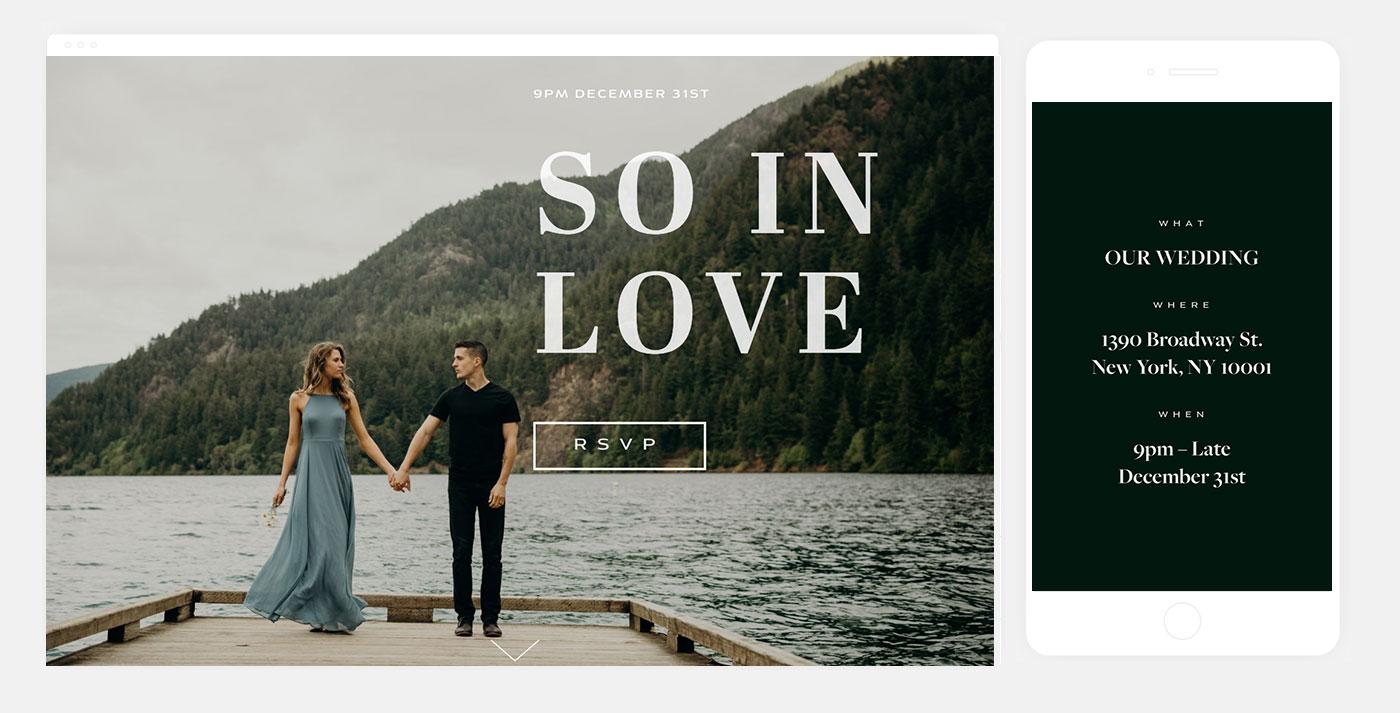 Wedding Website Inspiration