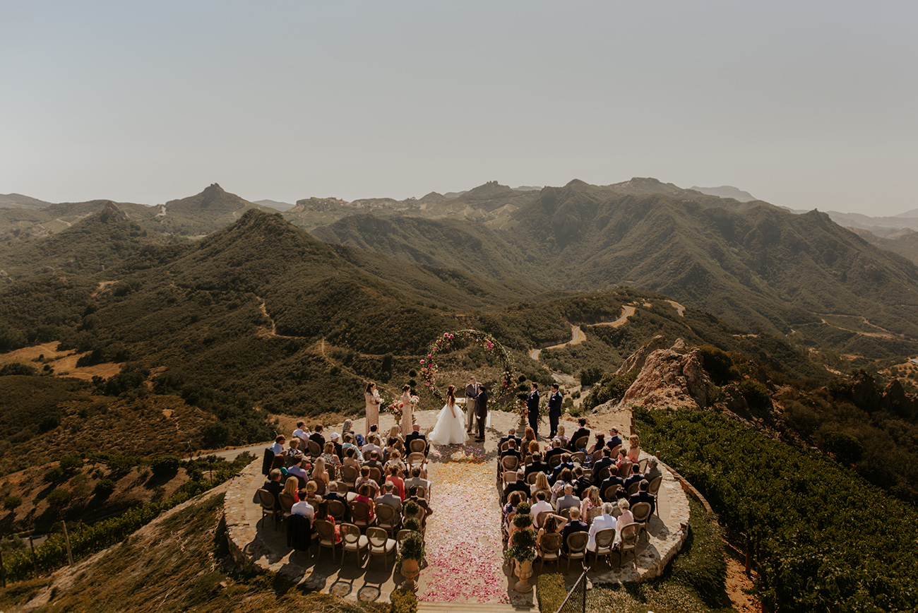 Malibu Rocky Oaks Estate Luxury Wedding by Little Boat Photography