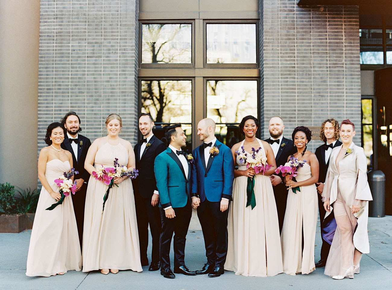 Modern Winter Austin Wedding