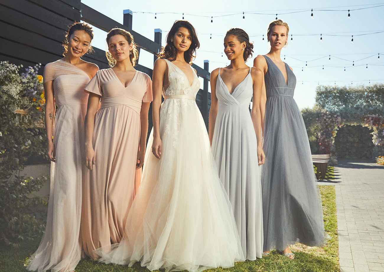 Pretty Pastels + Beaded Beauties: BHLDN?s Latest Gowns for Bridesmaids Are Whimsical Wonders!