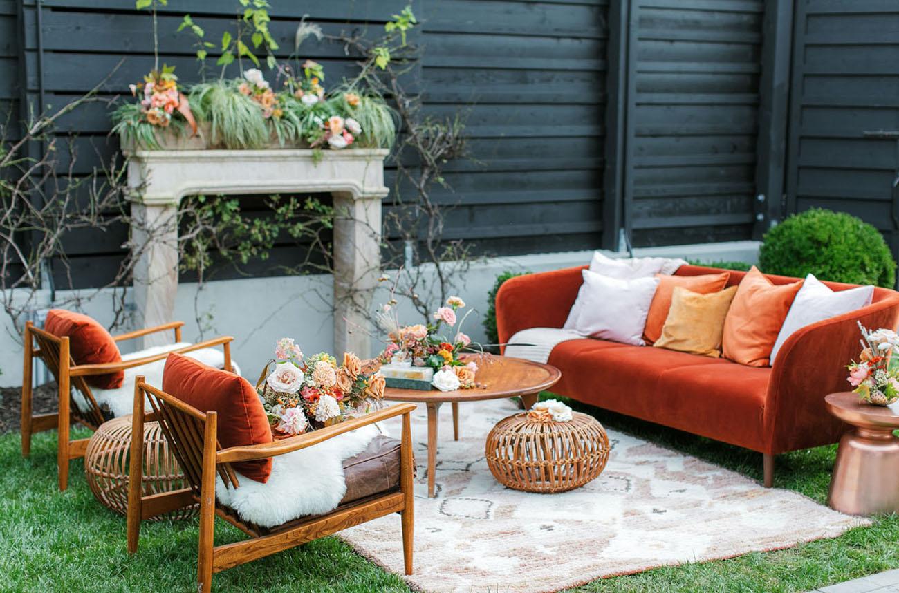 boho Fall lounge