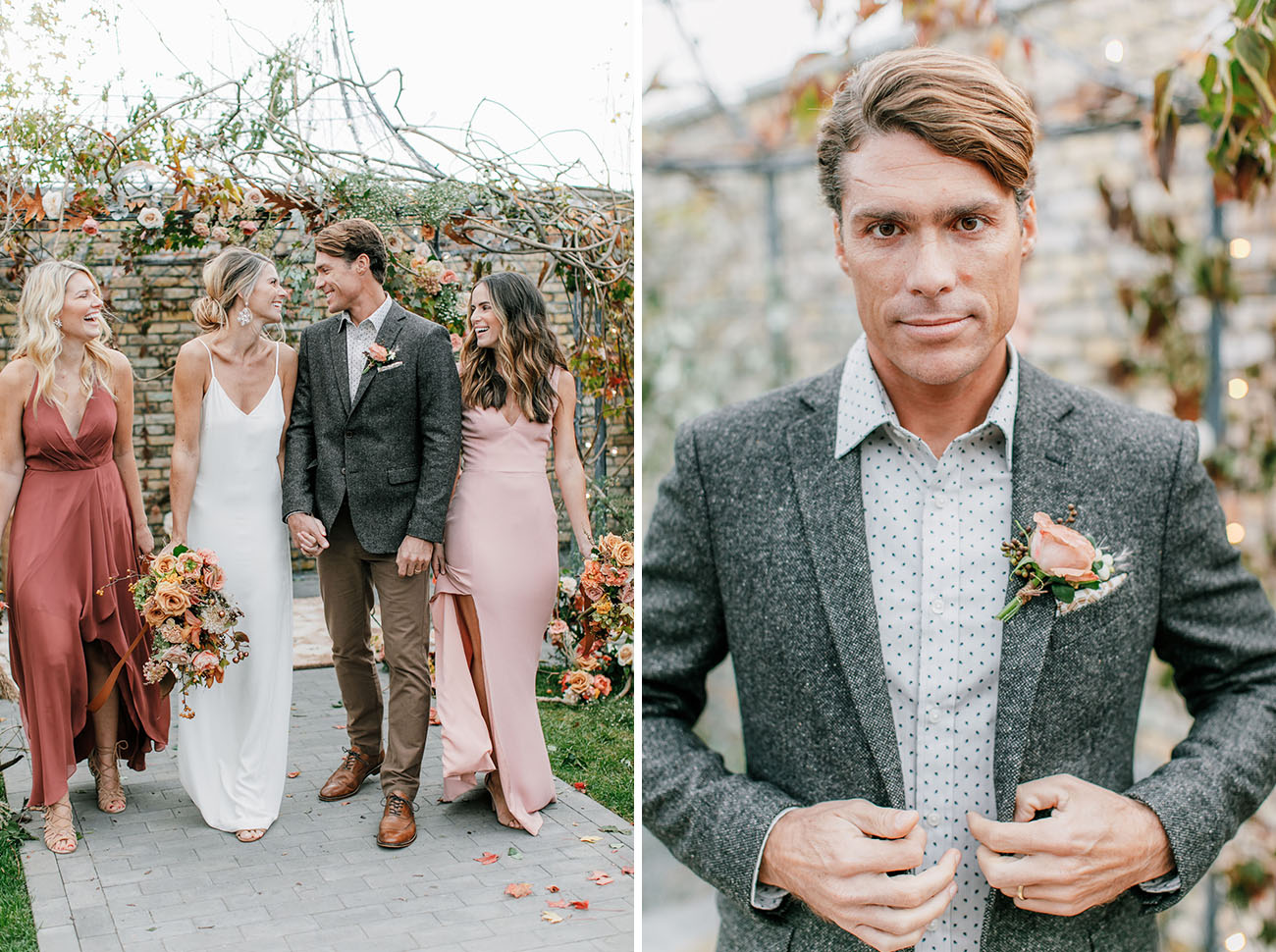 Black Tie Boho Wedding Inspiration