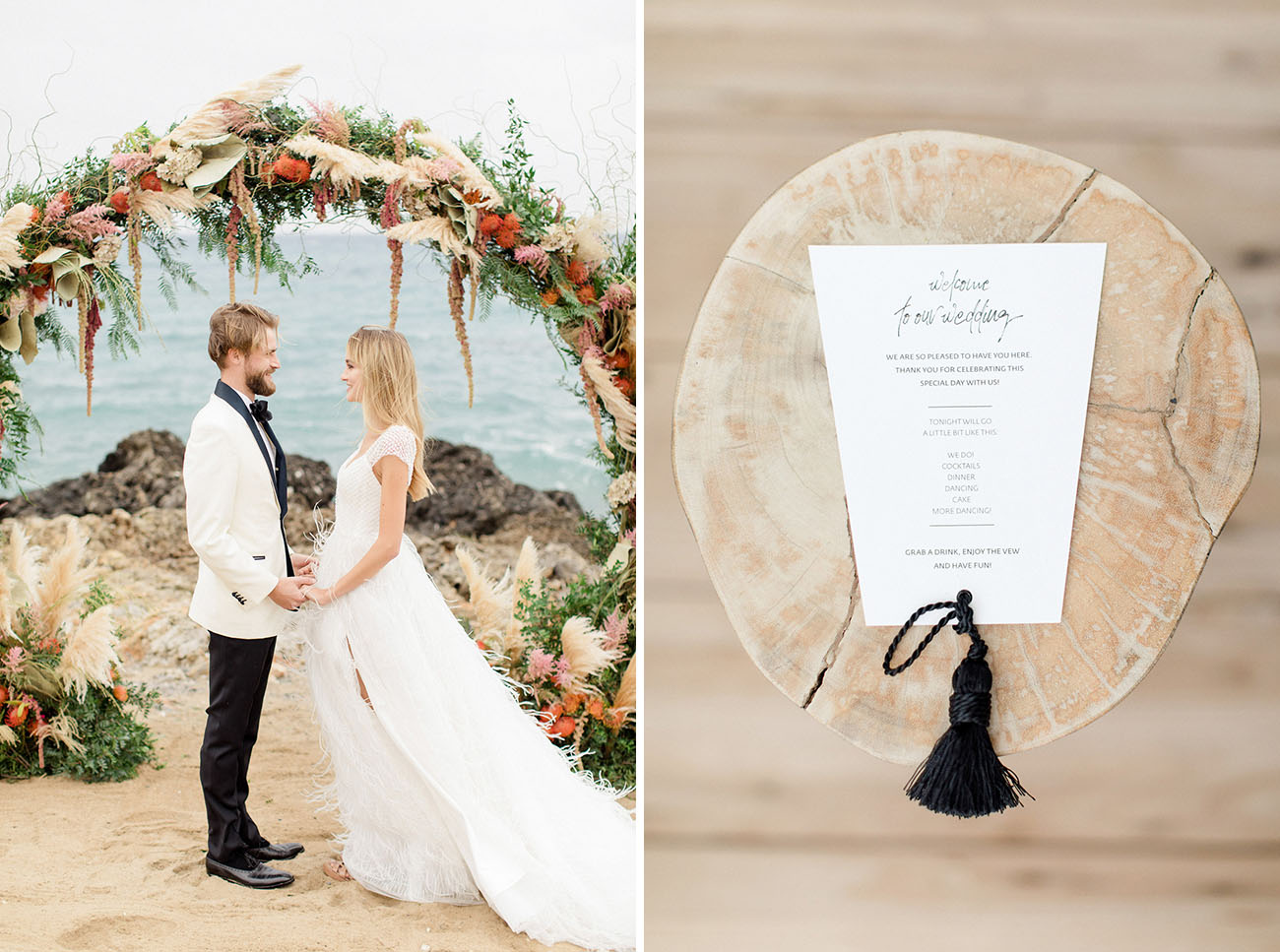 Boho Beach Crete Wedding Inspiration