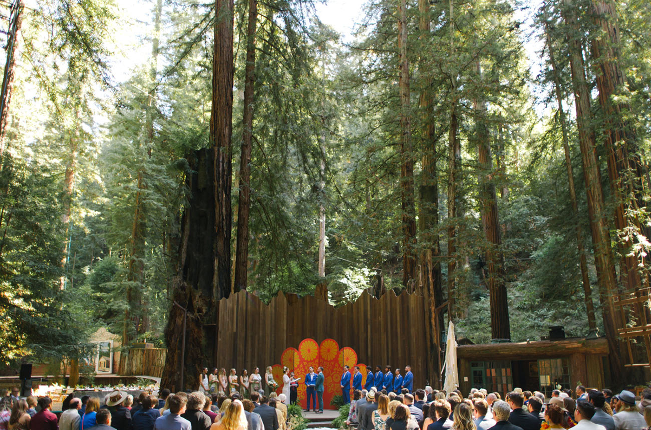 Wild Redwoods Wedding