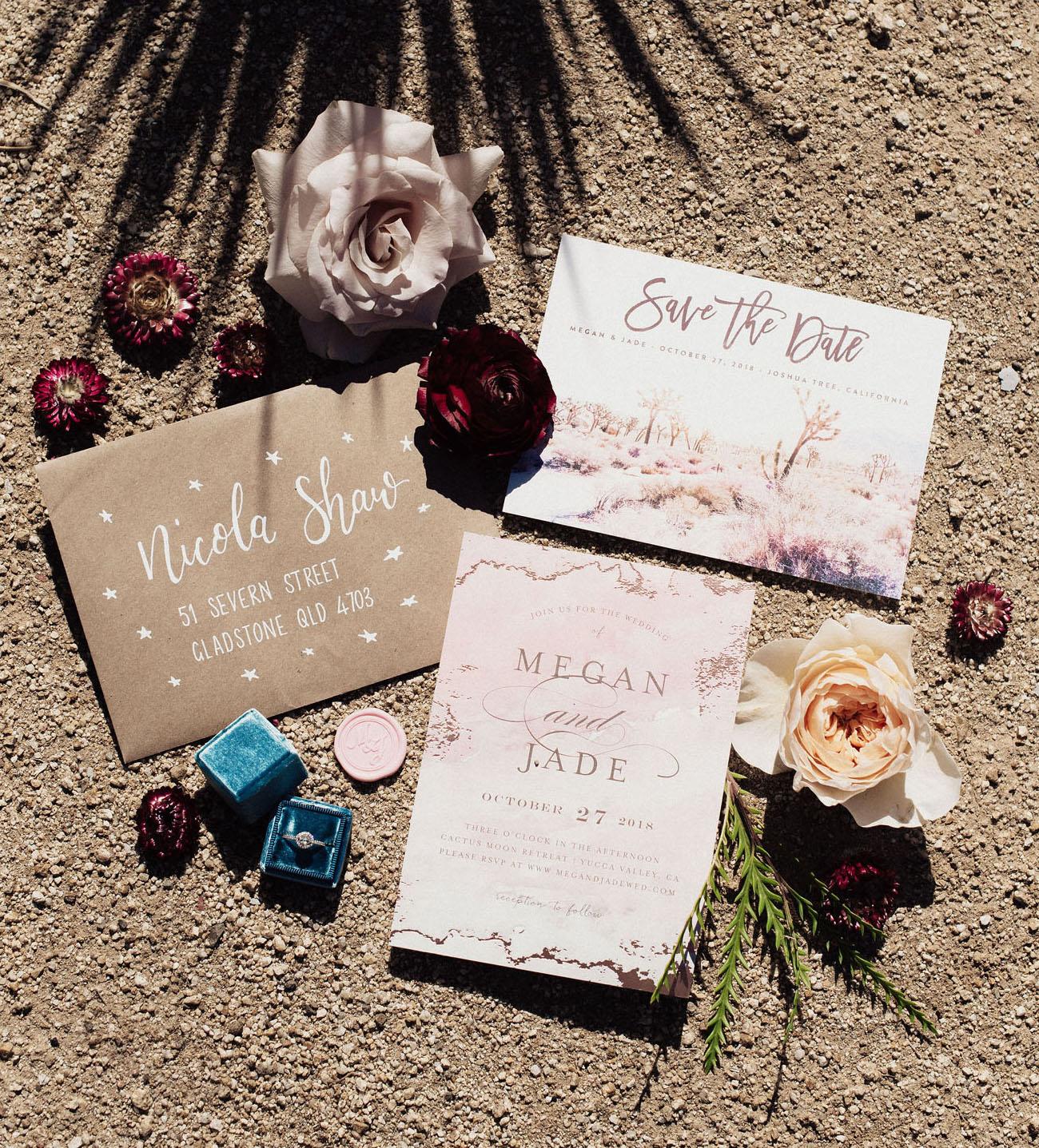 desert invitation