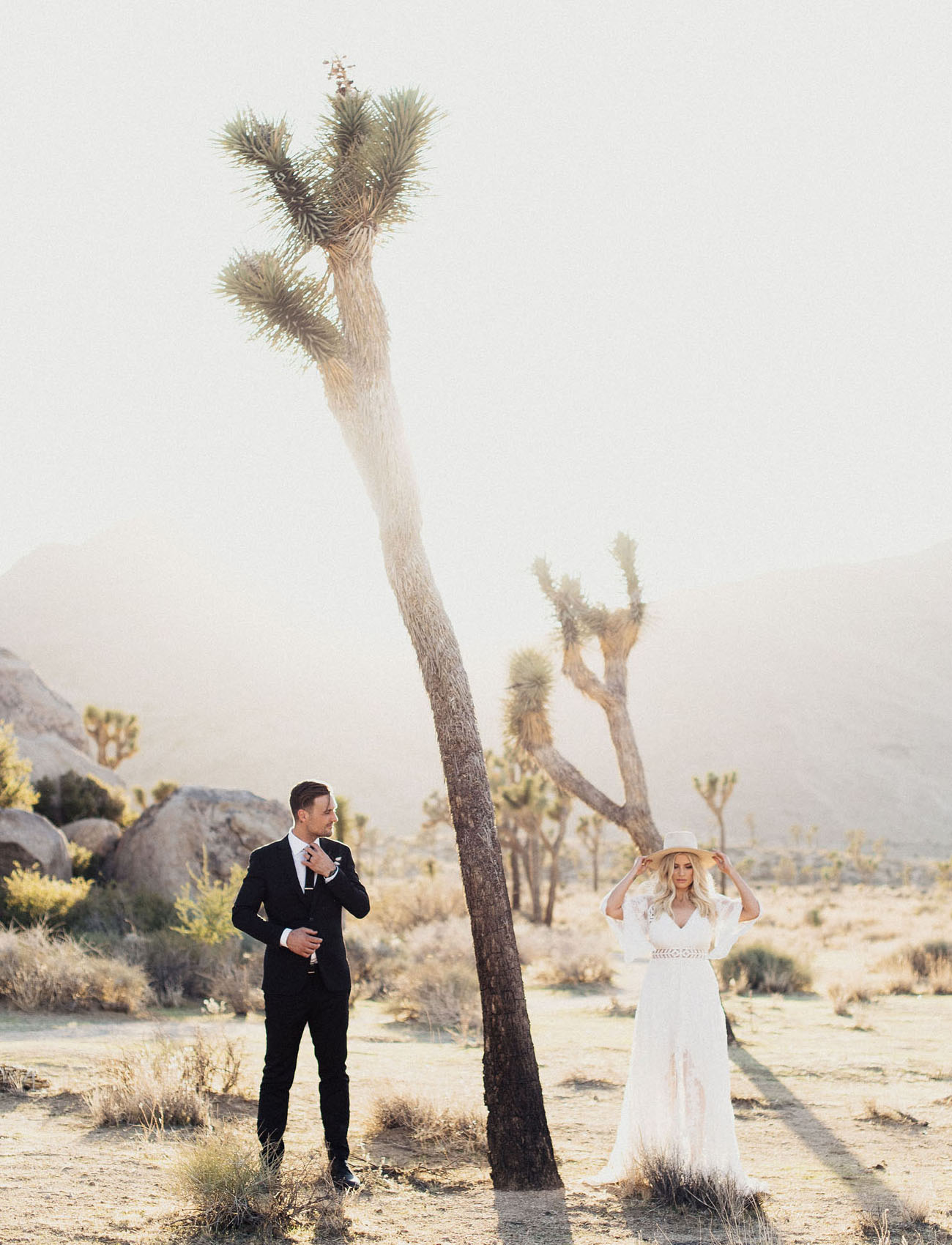 Boho Joshua Tree Wedding