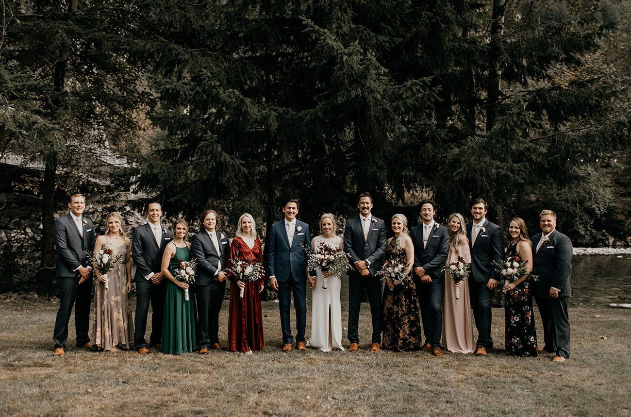 PNW River Wedding