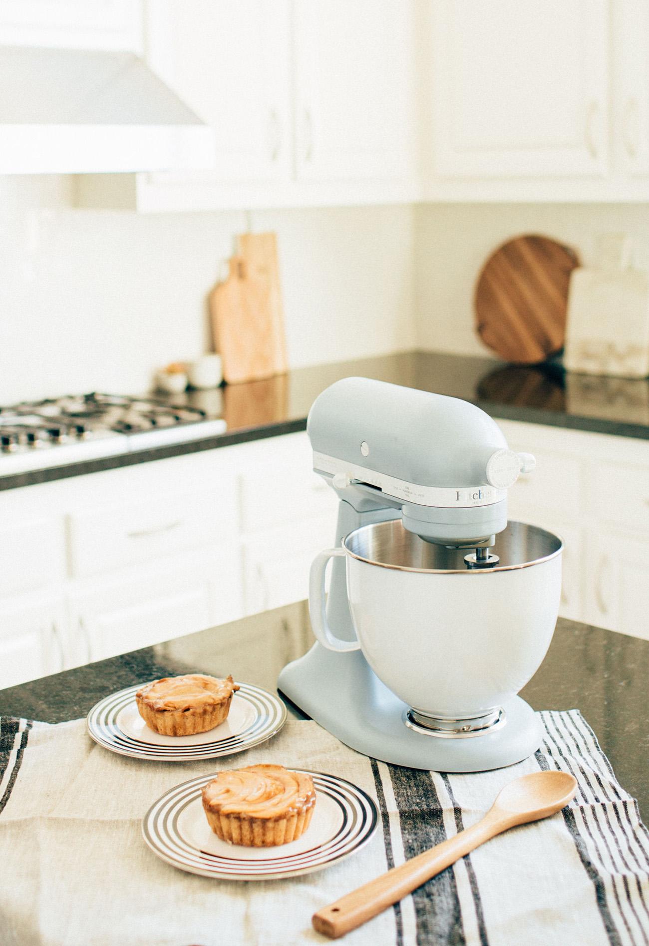 Kitchen-Aid Mixer in Misty Blue