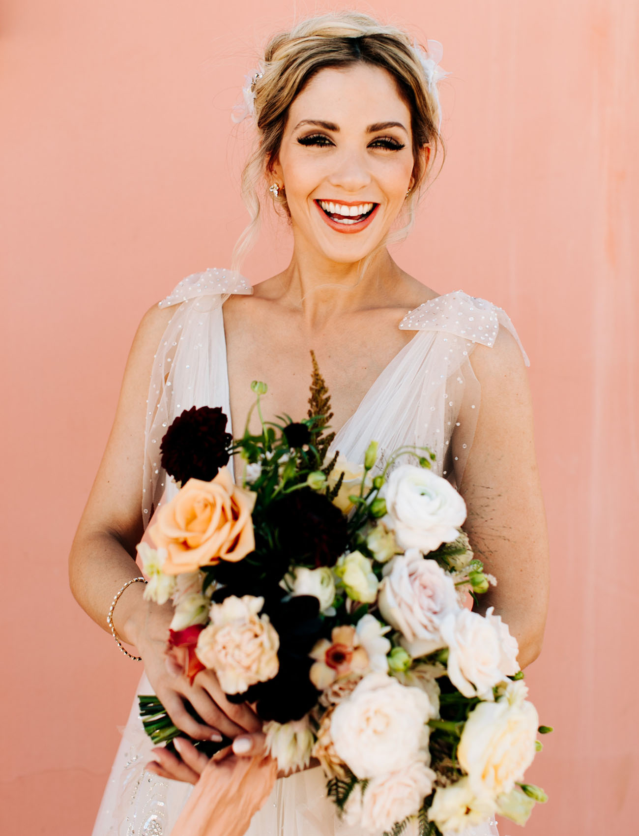 luxe boho bouquet