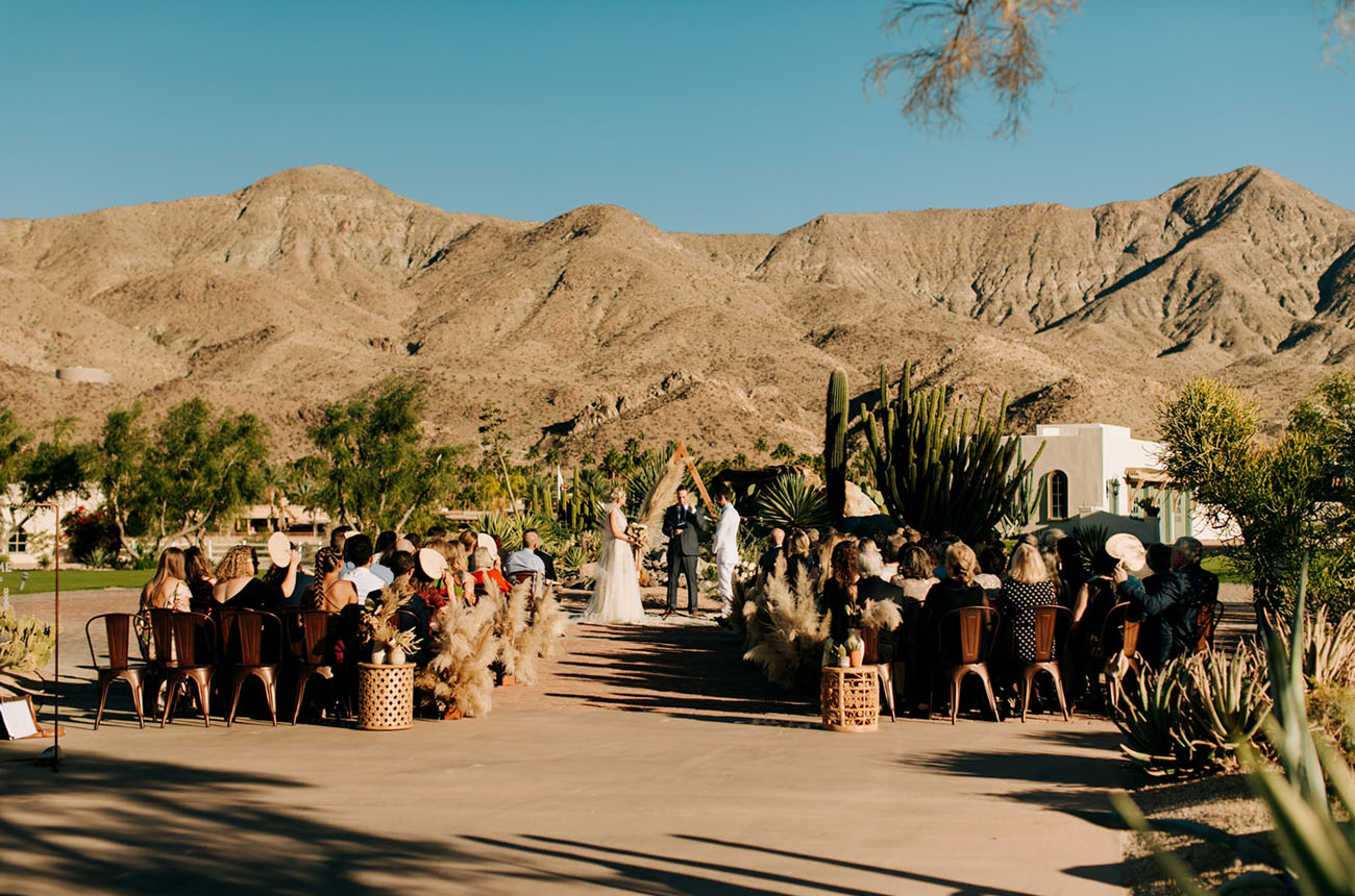 The Pond Estate Palm Springs Wedding
