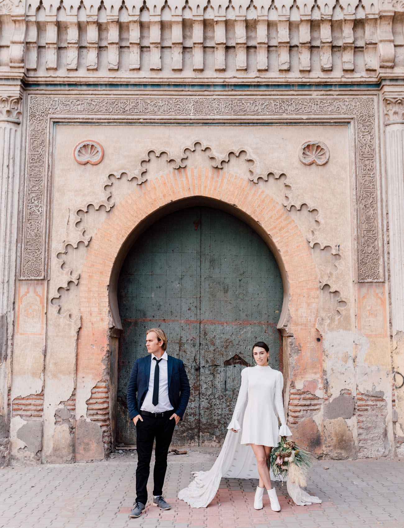 From the City to the Desert: A Getaway Elopement in Magical Morocco