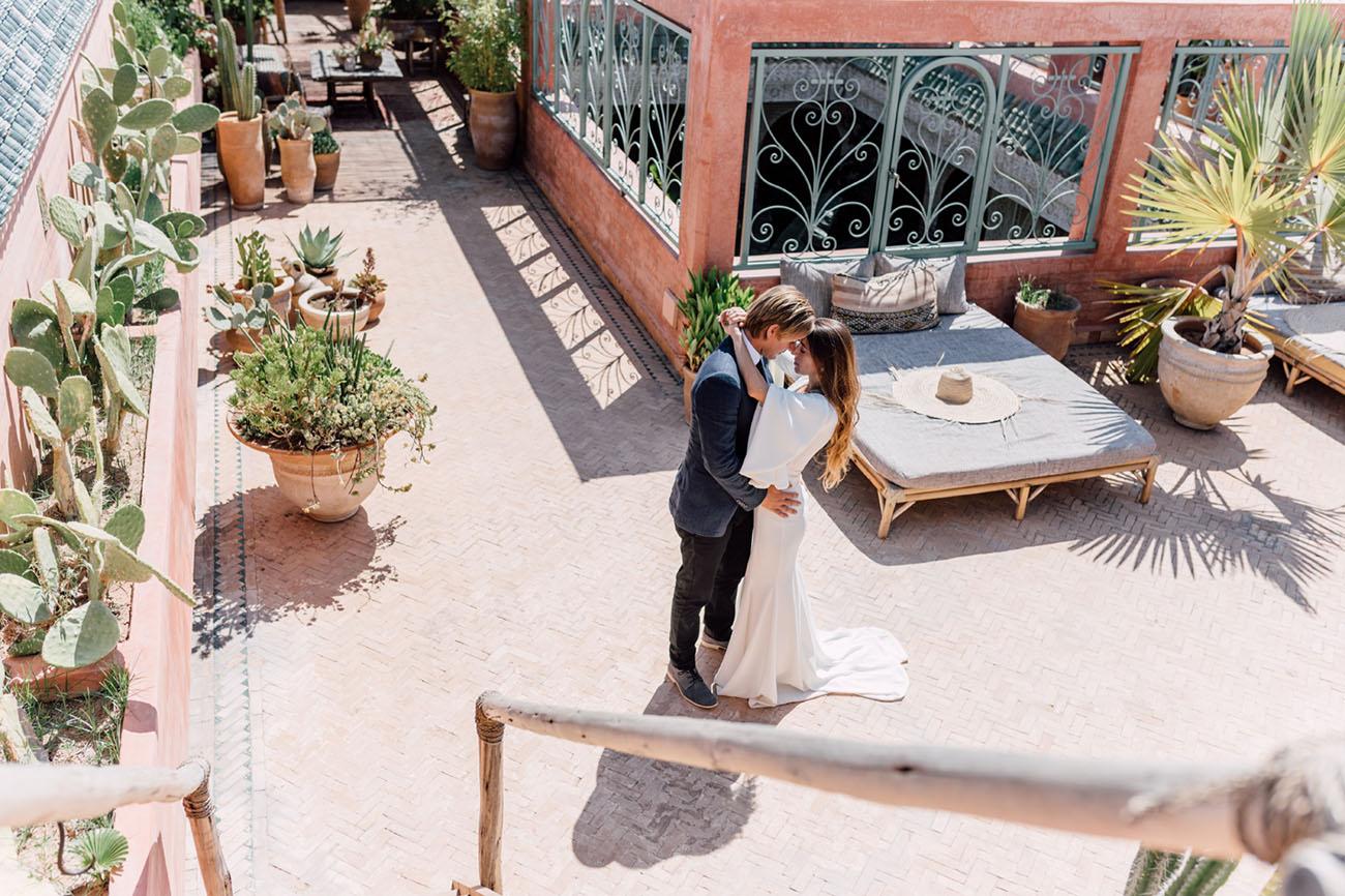 Elopement in Marrakech