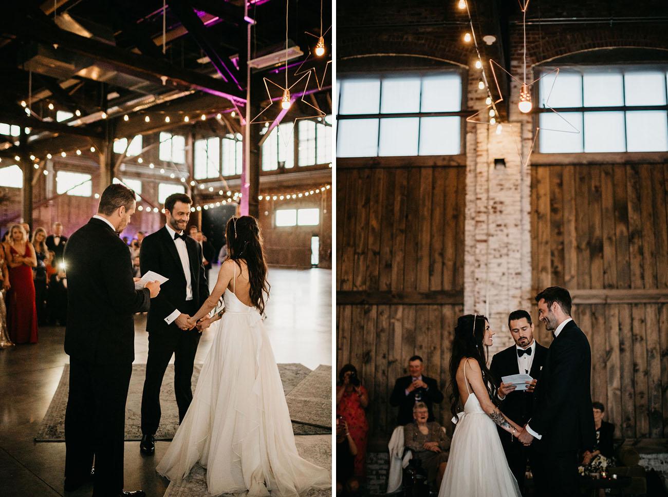 Modern Galaxy Wedding