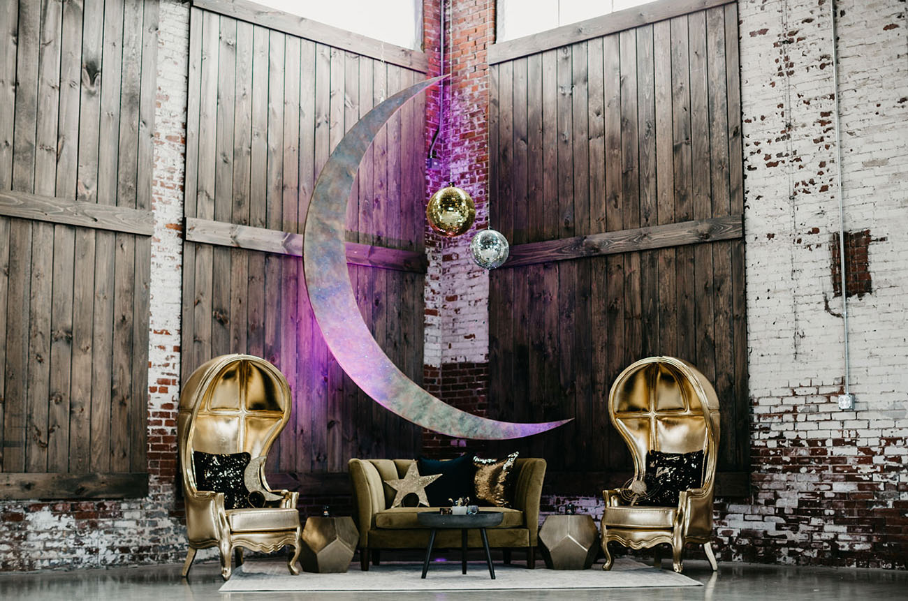 galaxy lounge backdrop