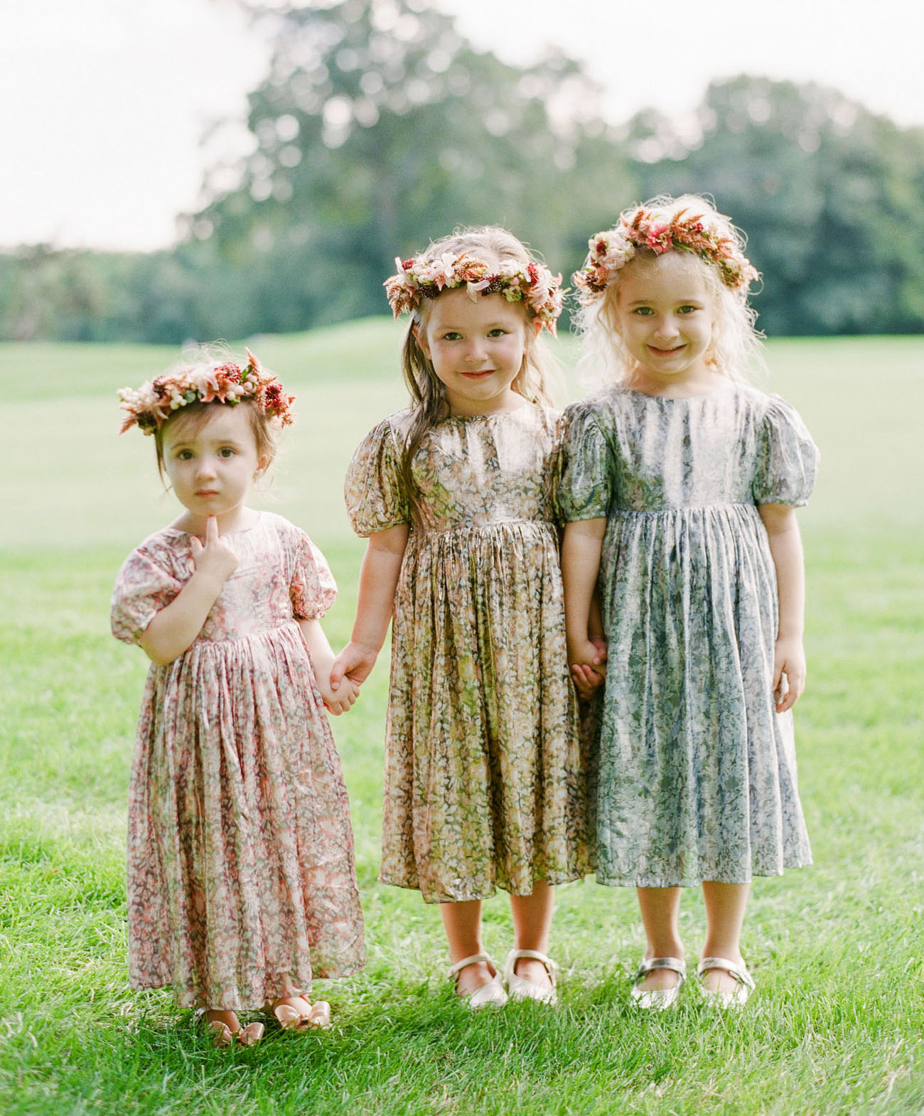 flower crown flower girls