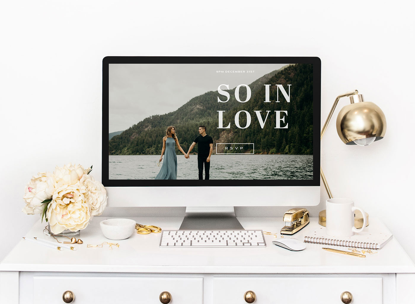 Create it Yourself: Squarespace Wedding Website Inspiration