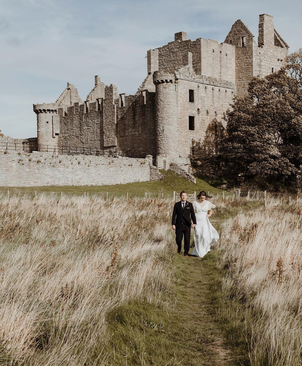 Craigmillar Castle Scotland Wedding