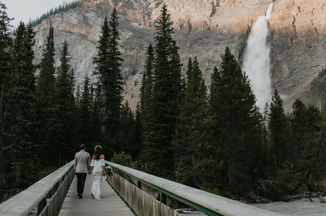 Canadian Mountain Elopement
