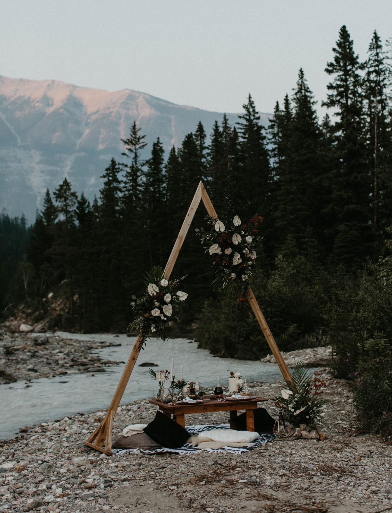 Canadian Mountain Elopement