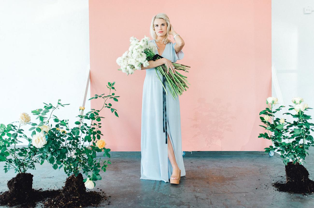 Monochrome Terracotta Wedding Inspiration