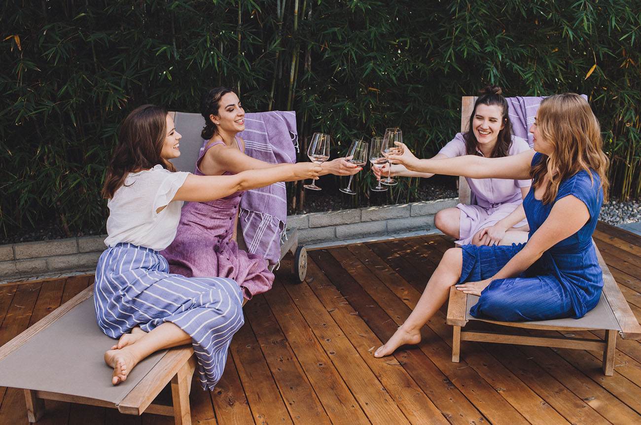 Yogi Inspired Bachelorette Party